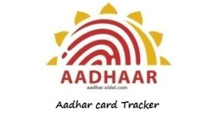 aadhar card tracker