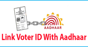 Aadhar card link to Voter Id
