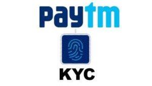 verify Paytm KYC online