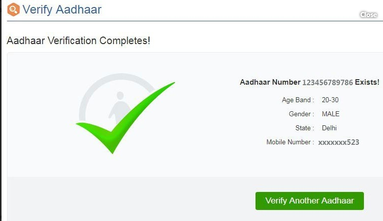 How to update mobile in aadhar card online